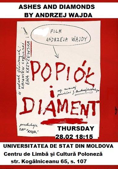 """""""POPIOL I DIAMENT"""" 1958"""